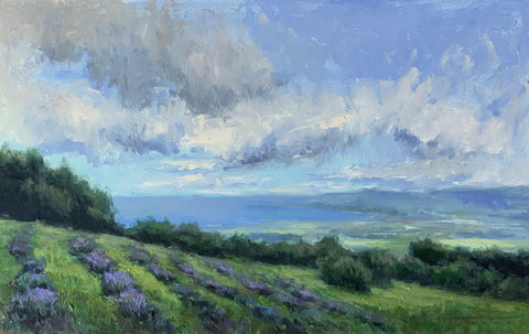 """Lavender Farm"" by Jane Hunt"
