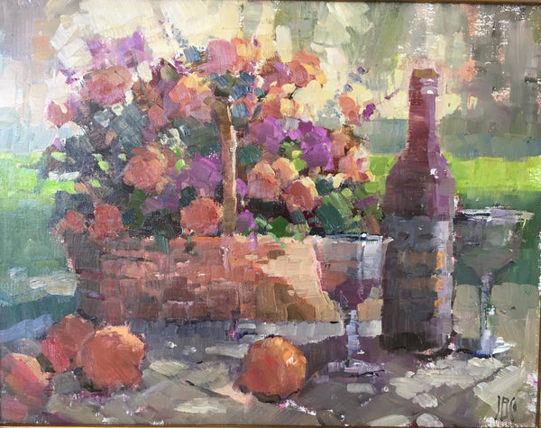 """Still Life in the Park"" by John Guernsey"