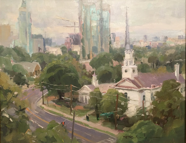 """Overlooking Peachtree"" by James Richards"