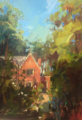"""Clear Day at Olmsted"" by Suzie Baker"