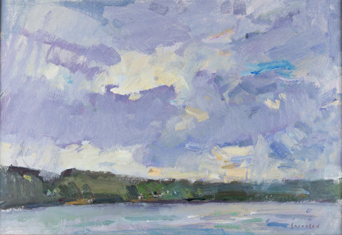 """Clouds Over Lake Allatoona"" by Eric Jacobsen"