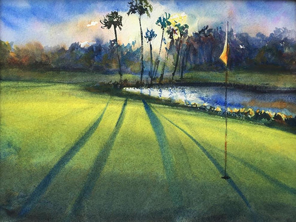 """Kiawah Dog Leg""  by Russell Jewell"