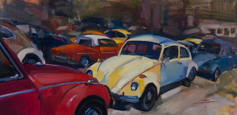 """VW Retirement"" by Kendall Portis"