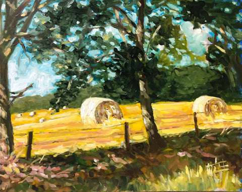 """Bales Through the Pines"" by Lamar Gilstrap"