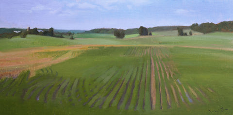 """Lush Fields"" by John Lasater"