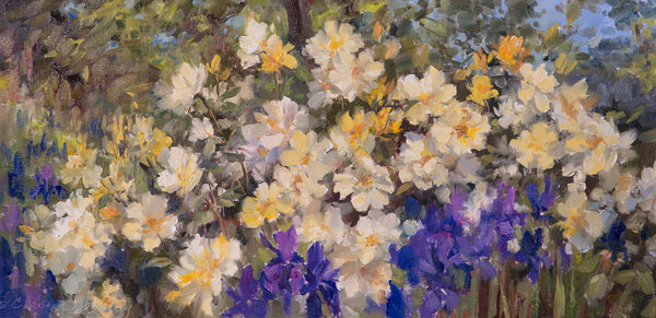 """Iris & Roses"" by Christine Lashley"