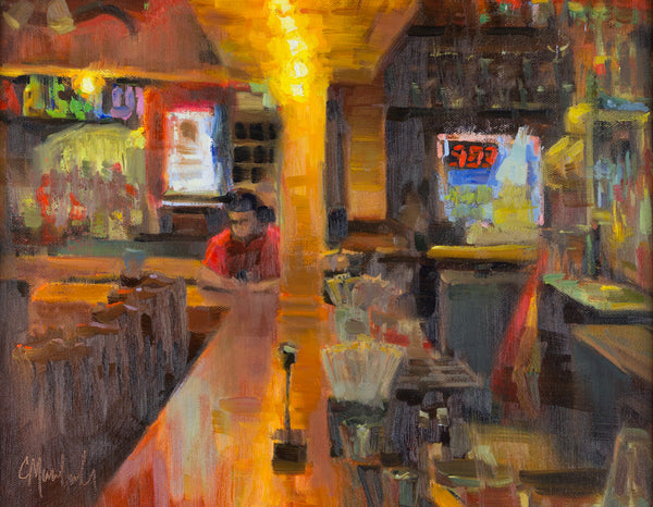 """Cowtipper Bar"" by Chuck Marshall"