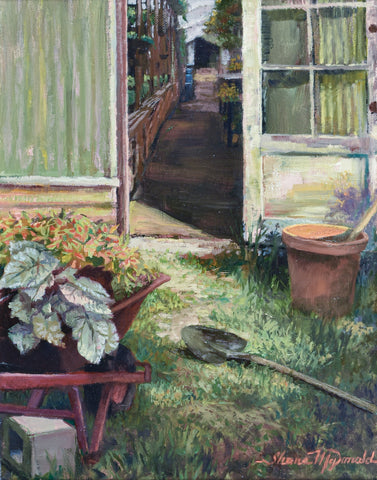 """Back of the Green House"" by Shane McDonald"