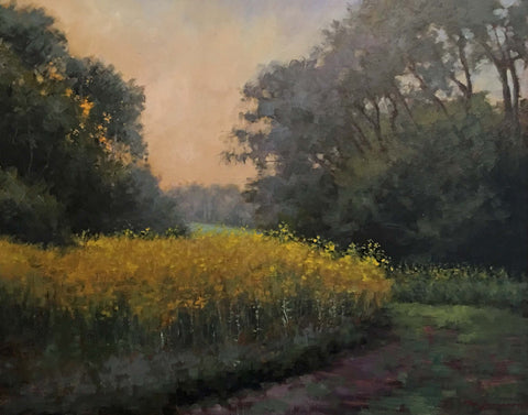 """Evening + Goldenrod"" by Jill McGannon"