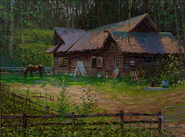 Paul Smith's Horse Barn by Nikolay Mikushkin