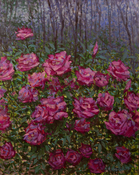 """Roses"" by Nikolay Mikushkin"