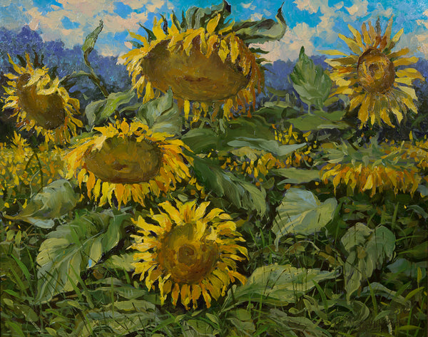 """Sunflowers"" by Nikolay Mikushkin"