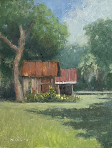 """Farm Shed"" by George Netherton"