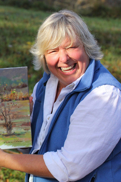 Fresh, Fun and Fearless... A Three Day Plein Air Workshop with 2018 Olmsted Plein Air Invitational's Best-in-Show Winner, Kathie Odom - Friday, April 24-26, 2019.