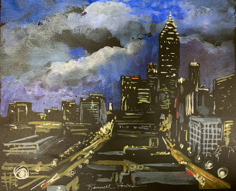 """Atlanta Blues"" by Kathy Rennell Forbes"