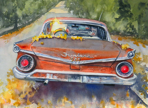 """Fairlane 500"" by Kathy Rennell Forbes"