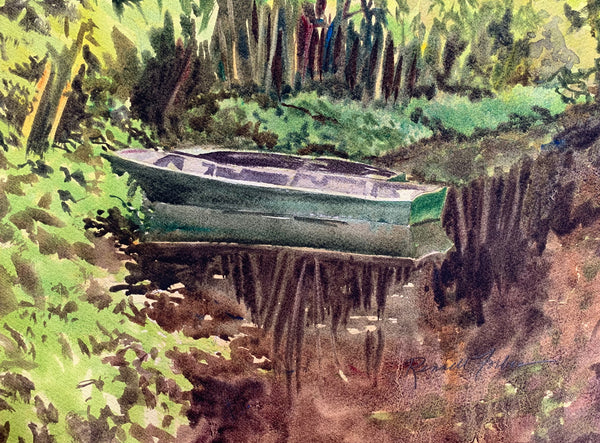 """Monet's Boats"" by Kathy Rennell Forbes"