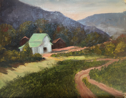"""Farm in the Valley"" by Janice Smith"
