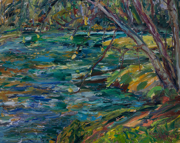 """Lake at Spruce Creek"" by Jill Steenhuis"