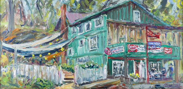 """Old Esso Station"" by Jill Steenhuis"