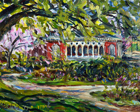 """The Meeting House at Piedmont Park"" by Jill Steenhuis"