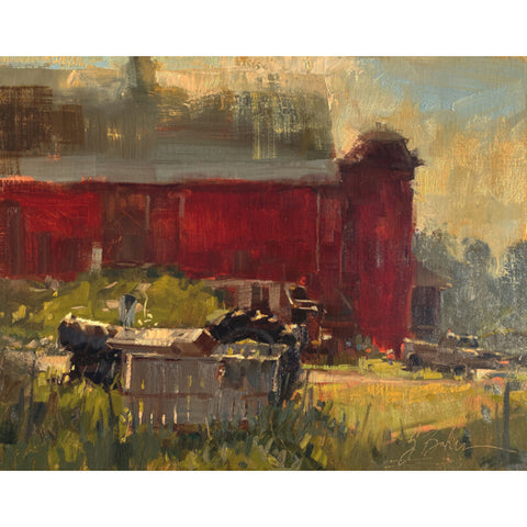 """Sunrise on the Farm"" by Suzie Baker"