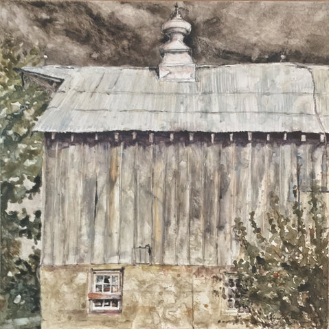 """Cattle Barn End"" by Mat Barber-Kennedy"