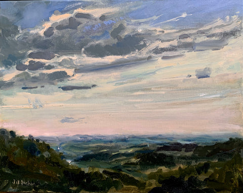 """Blue Ridge Morning"" by Jill Basham"