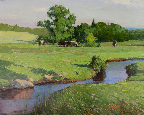 """Field Brook""  by Zufar Bikbov"