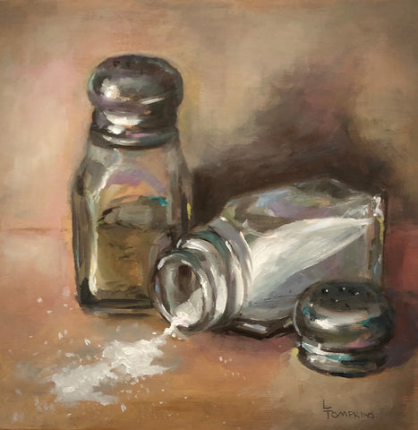 """Salt and Pepper"" by Lynne Tompkins Brice"