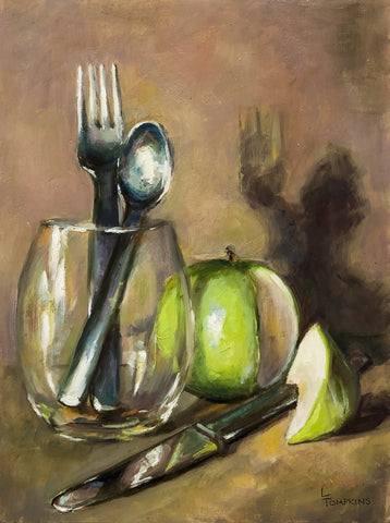 """An Apple a Day"" by Lynne Tompkins Brice"