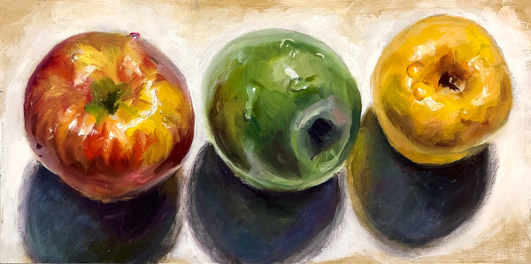 """Apples"" by Lynne Tompkins Brice"