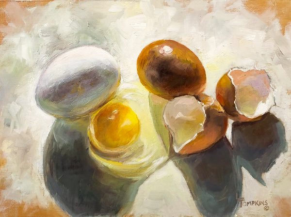 """Eggs"" by Lynne Tompkins Brice"