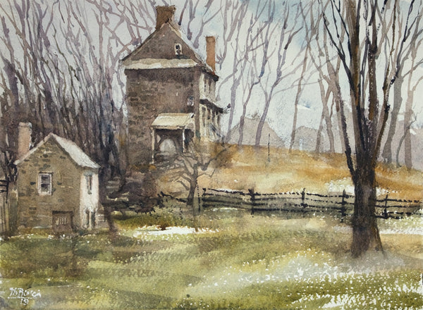 """Chadds Ford House 1712"" by Thomas Bucci"