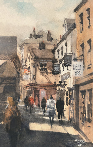 """The Shambles Market, York"" by Thomas Bucci"