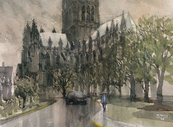 """Washington National Cathedral"" by Thomas Bucci"