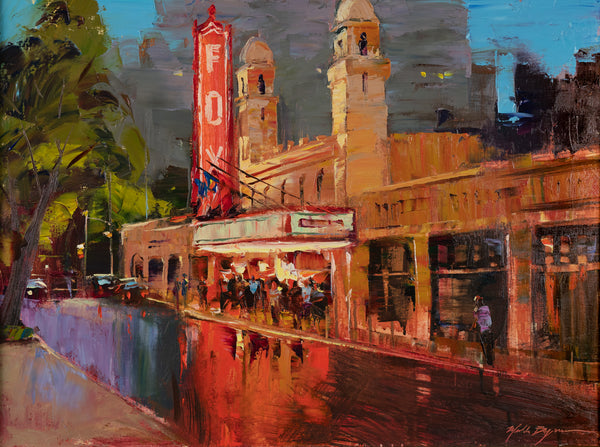 """Fox Theater Aglow"" by Michele Byrne"