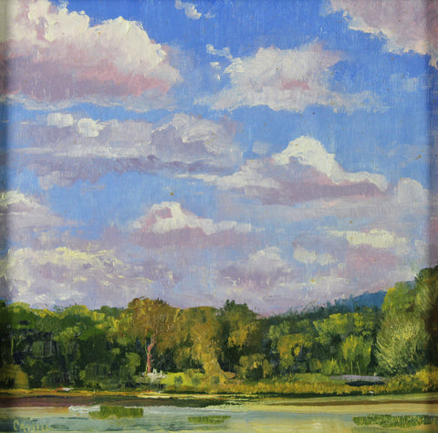 """Chattahoochee Clouds"" by Ed Cahill"