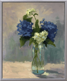 """Blue and White"" by Dede Collicott"