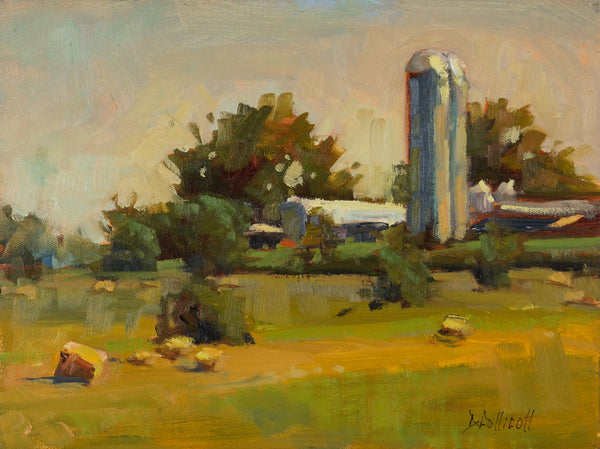 """Silos"" by Dede Collicott"