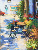 """Outdoor Seating"" by Mary Ann Cox"