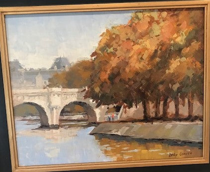 Autumn on the Seine by Daly Smith