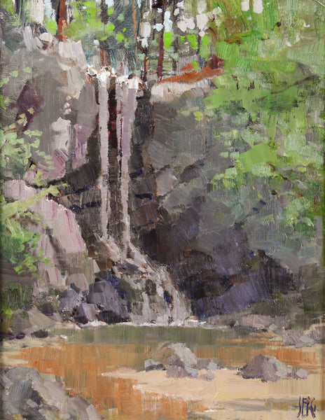 """High Shoals Falls"" by John Guernsey"