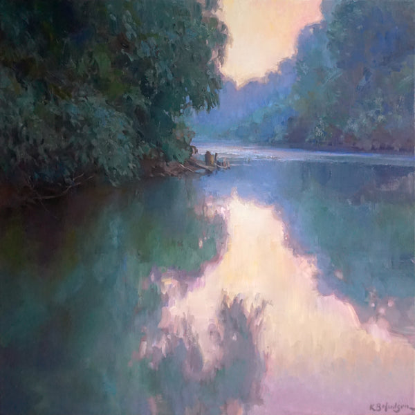 """Harpeth River Reflections""  by Kathleen Hudson"