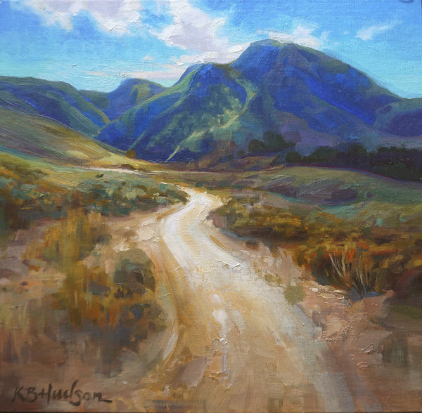 """Ranch Road""  by Kathleen Hudson"