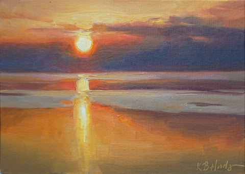 """Sunset, Still Water"" by Kathleen Hudson"