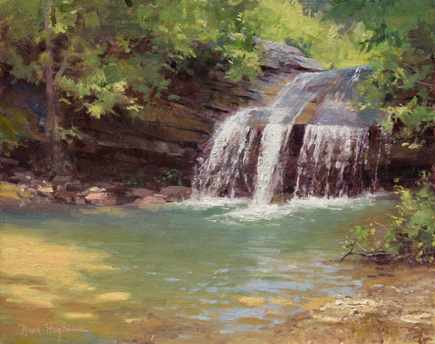 "'Hidden Falls"" by Neal Hughes"