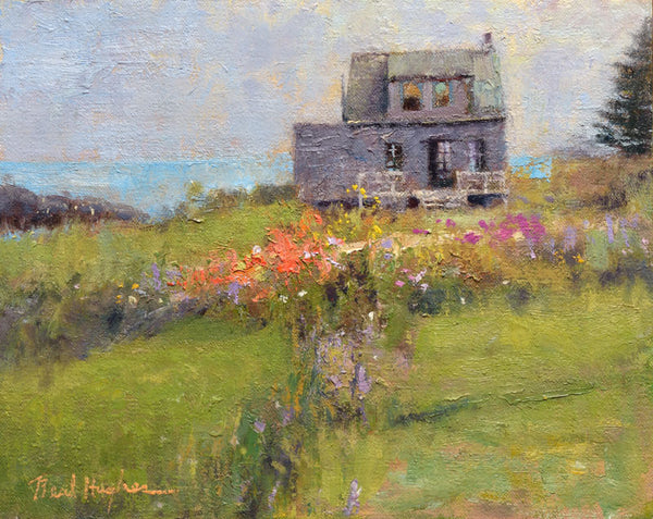 """Island Cottage Study""  by Neal Hughes"