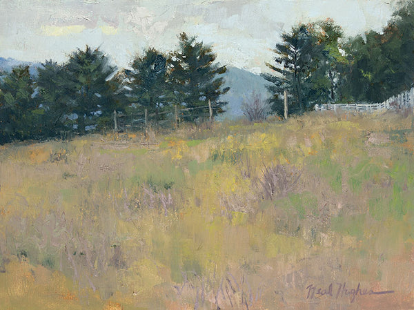 """Meadow at Dusk"" by Neal Hughes"