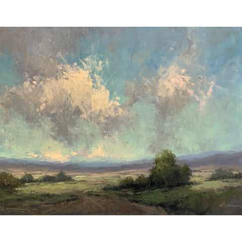 """Clouds Over Boulder"" by Jane Hunt"